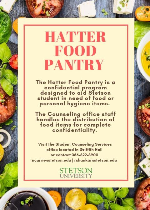 Hatter Food Pantry