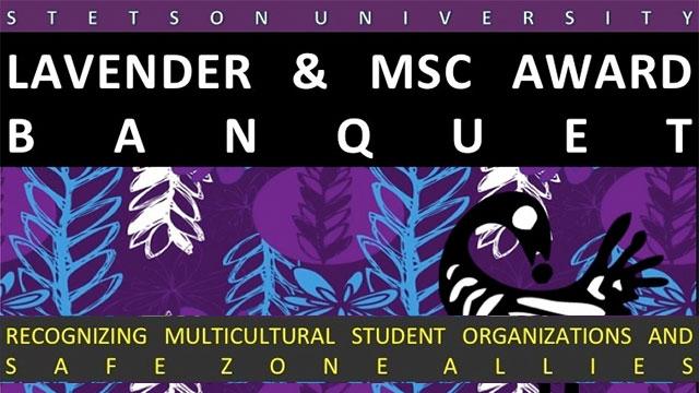 Lavender and MSC Award Banquet
