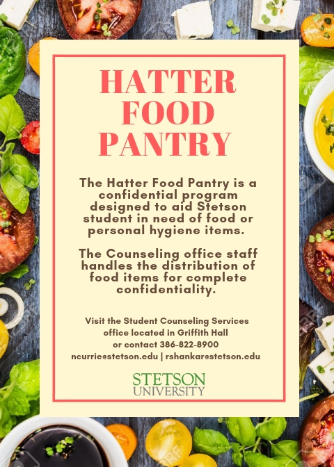 Hatter Food Pantry Flyer