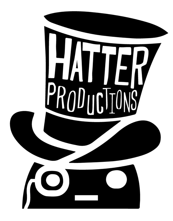 Hatter Productions Logo- Peanut in a hat