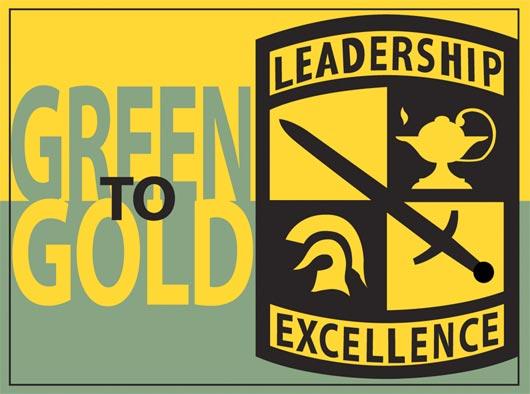 Green to Gold logo