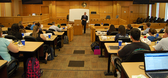 applying to law school