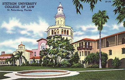 College of Law Postcard