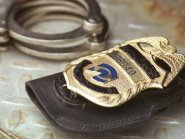 Badge and Handcuffs