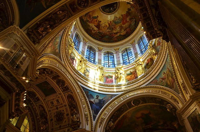 Russian Ceiling Image