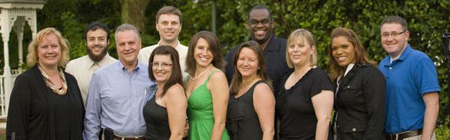 group photo of 11 emba alumni