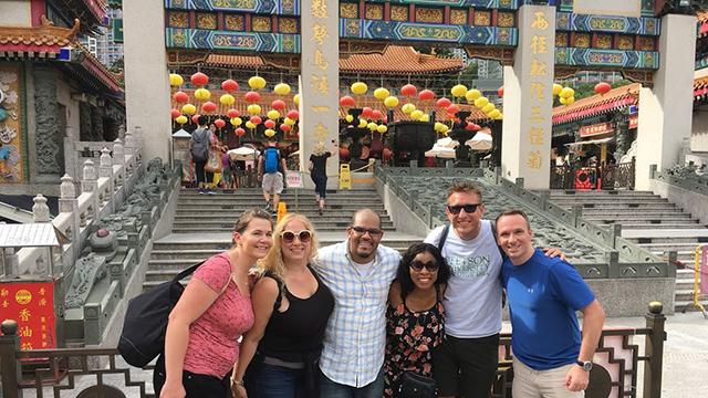 Stetson EMBA cohort 14 in Hong Kong