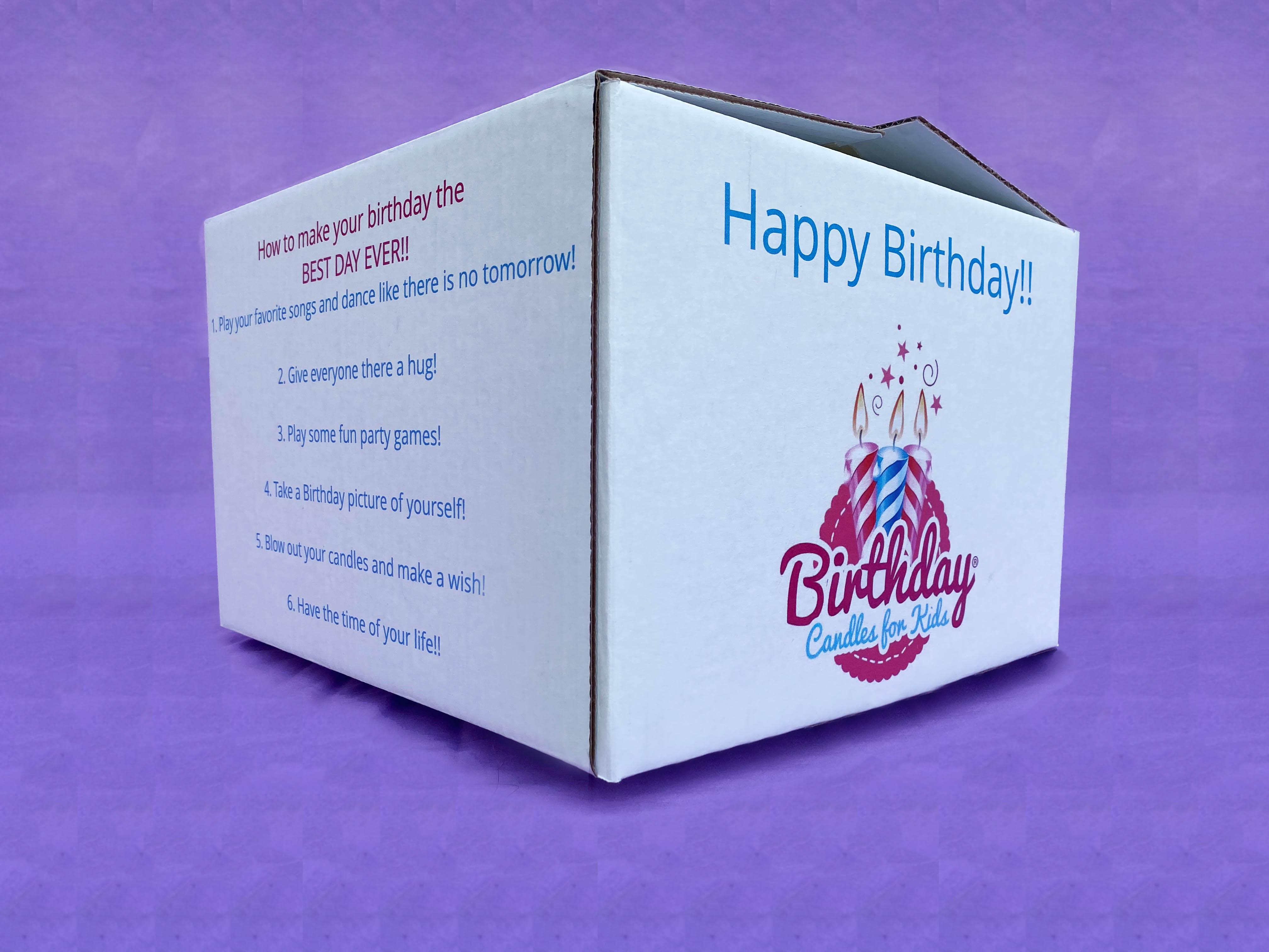 birthday shipment box