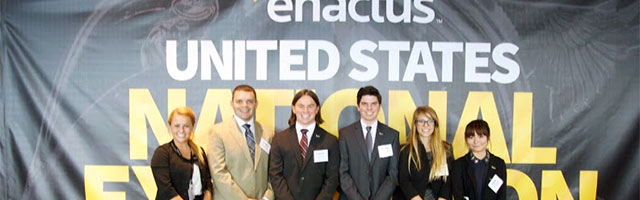 students at Enactus National Expo