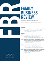 Family Business Review cover