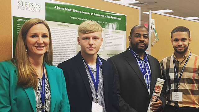 croom and hall showcase research with undergraduate students