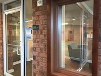 sales lab entrance