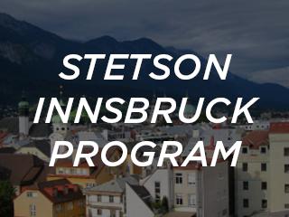 Stetson Innsbruck Program