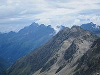 Mountain scenery around Stubai