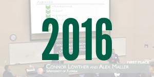 2016 winning presentation