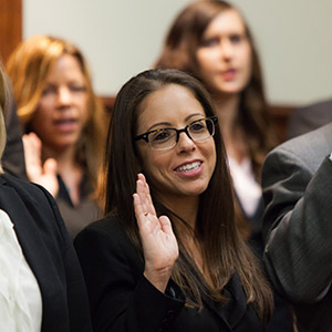 Stetson Law graduate states Florida Bar oath