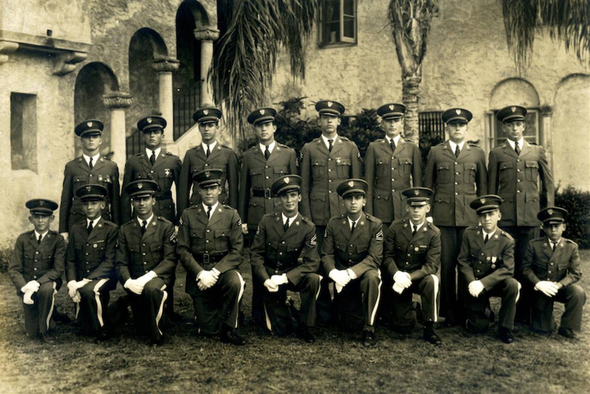 Florida Military Academy students