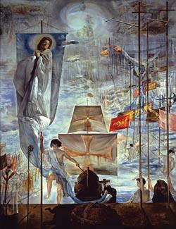 Painting at Salvador Dali museum