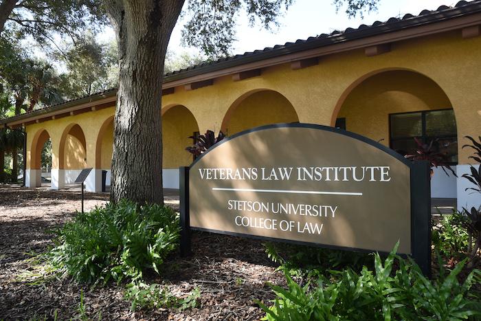 Exterior of the Veterans Law Institute