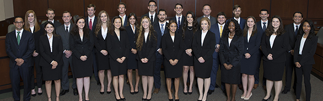Moot Court Board members