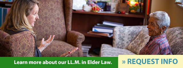 request information about Stetson's LL.M. in Elder Law program