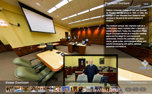 Virtual Tour Of Eleazer Courtroom