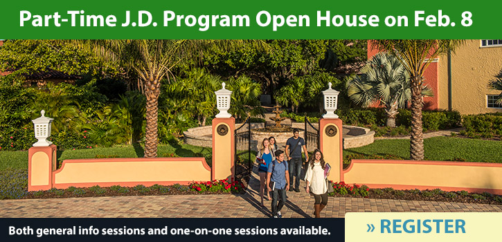 Attend a Part-Time Program Open House Event in July or August