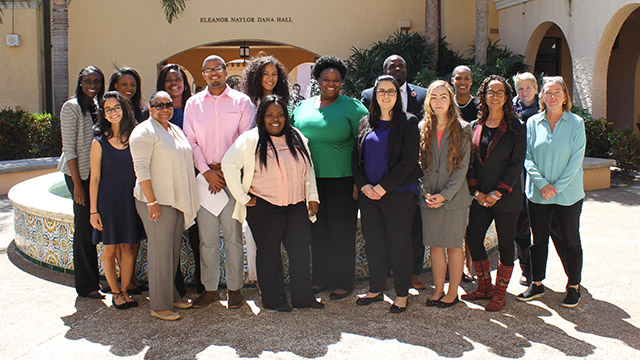 prelaw diversity conference participants at Stetson Law