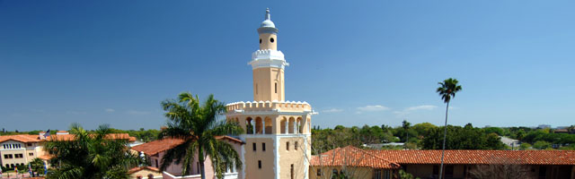 main tower on Gulfport campus