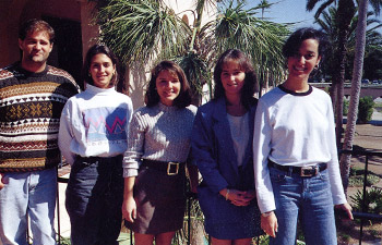 Stetson Law students in 1996