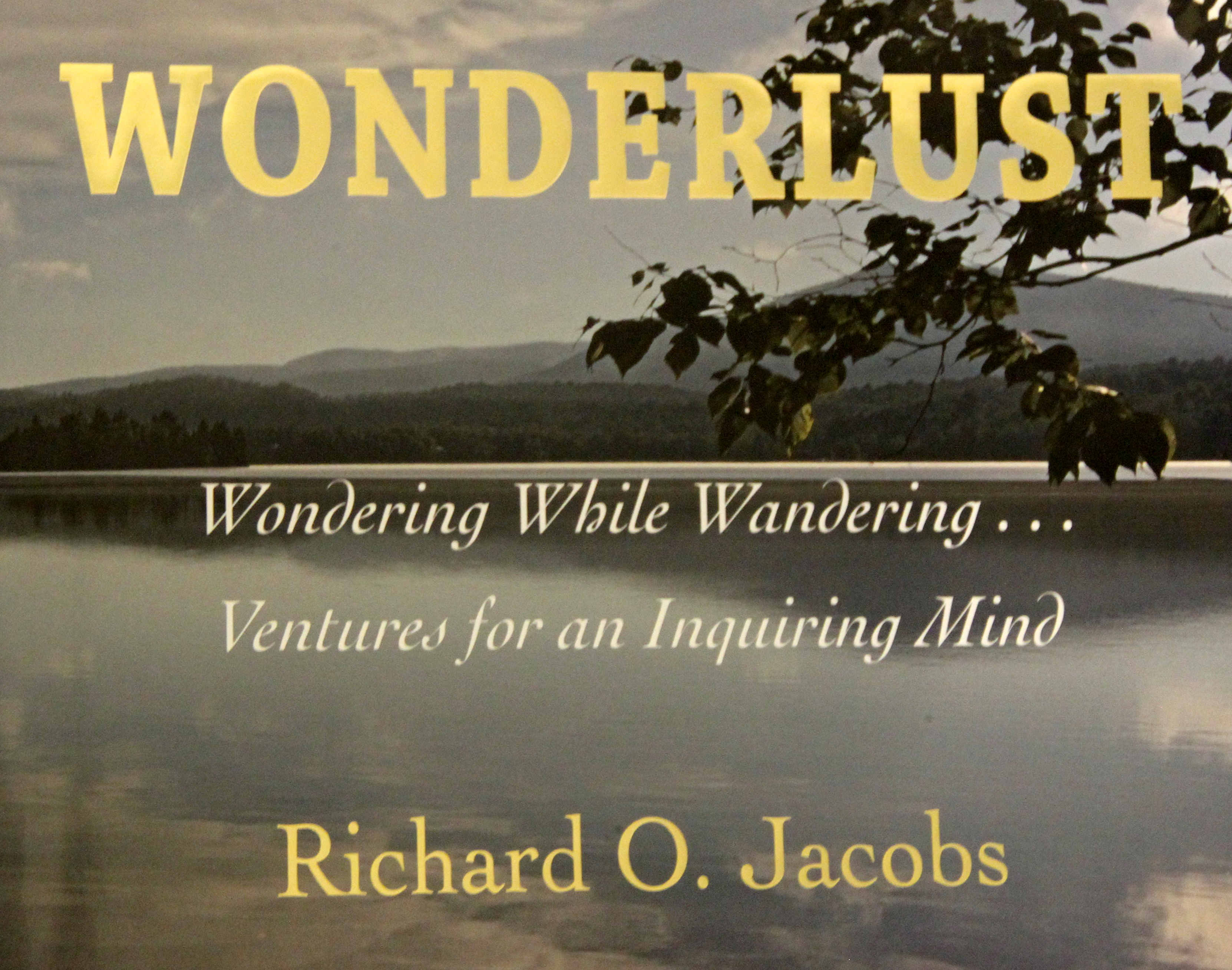 Cover of Dick Jacobs' book Wonderlust