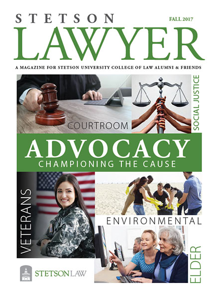 Fall 2017 Stetson Lawyer magazine cover