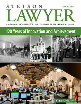 Stetson Lawyer Magazine Cover