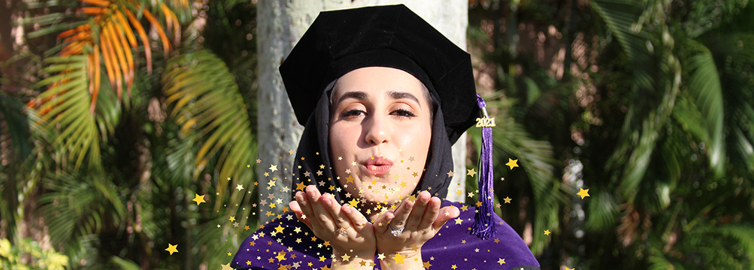 Graduation photo stars