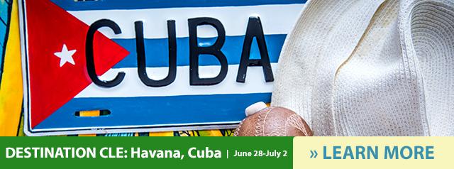 Destination CLE in Havana, Cuba