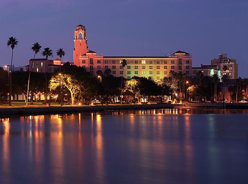Vinoy hotel in St. Petersburg, Florida