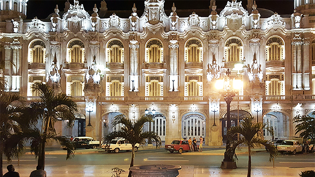 Gran Teatro de La Habana Alicia Alonso, or Alicia Alonso Grant Theater, in Havana, Cuba