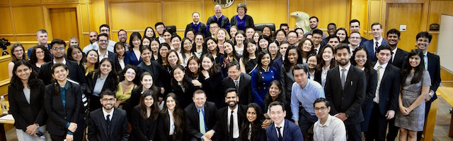 Participants in the Stetson International Environmental Moot Court Competition