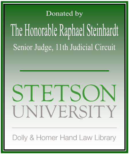 The Honorable Rapheal Steinhart