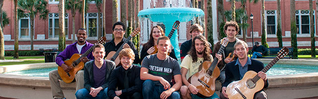 Guitar Ensemble by Holler Fountain
