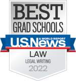 U.S. News & World Report Legal Writing Badge 2022
