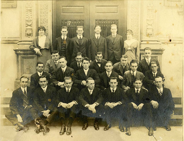 College of Law Class of 1916