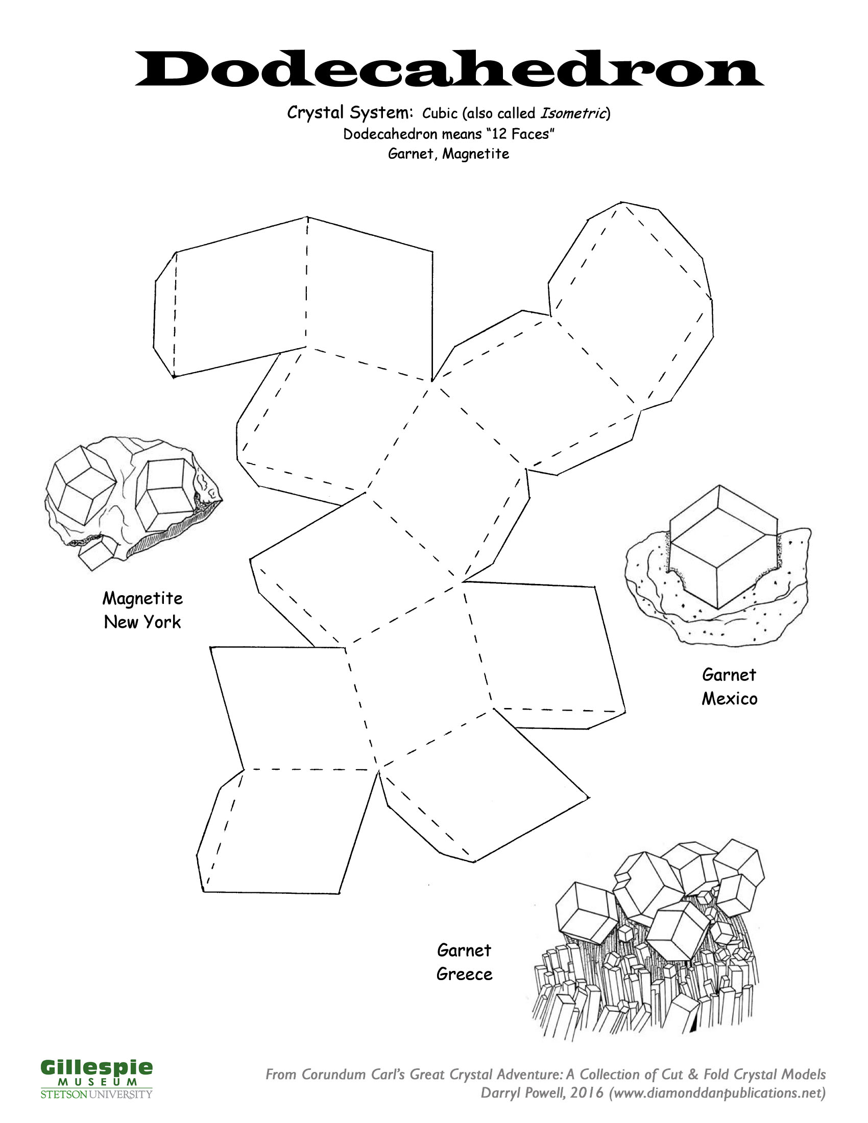 crystal dodecahedron