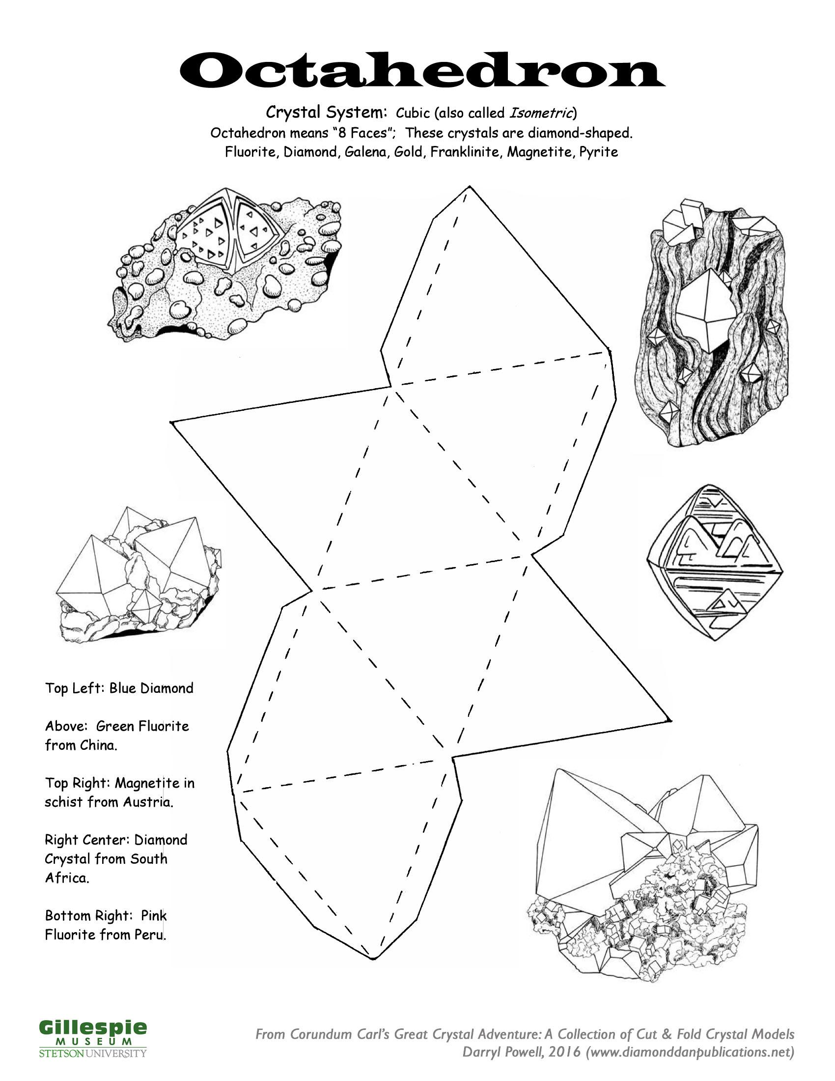 crystal octahedron