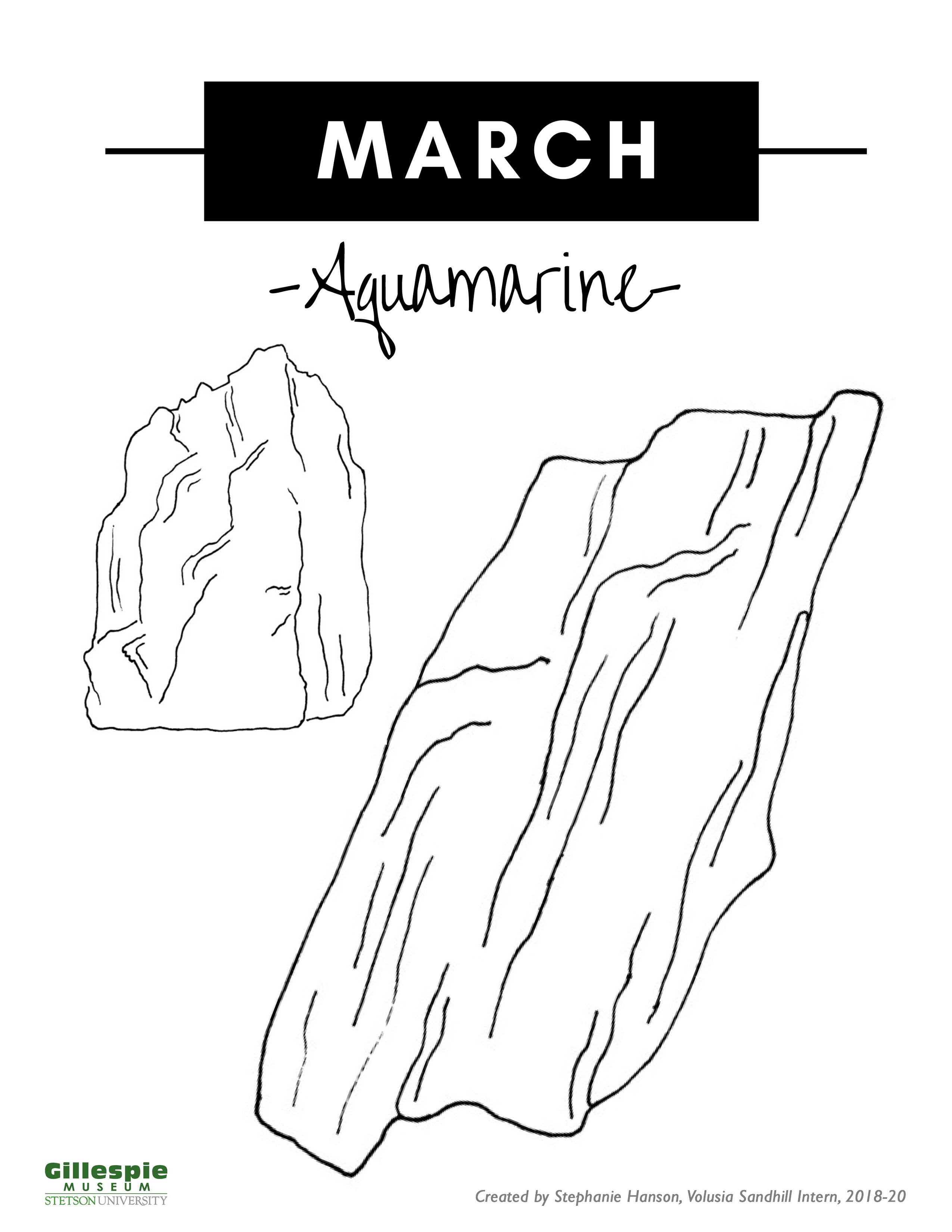 March birthstone