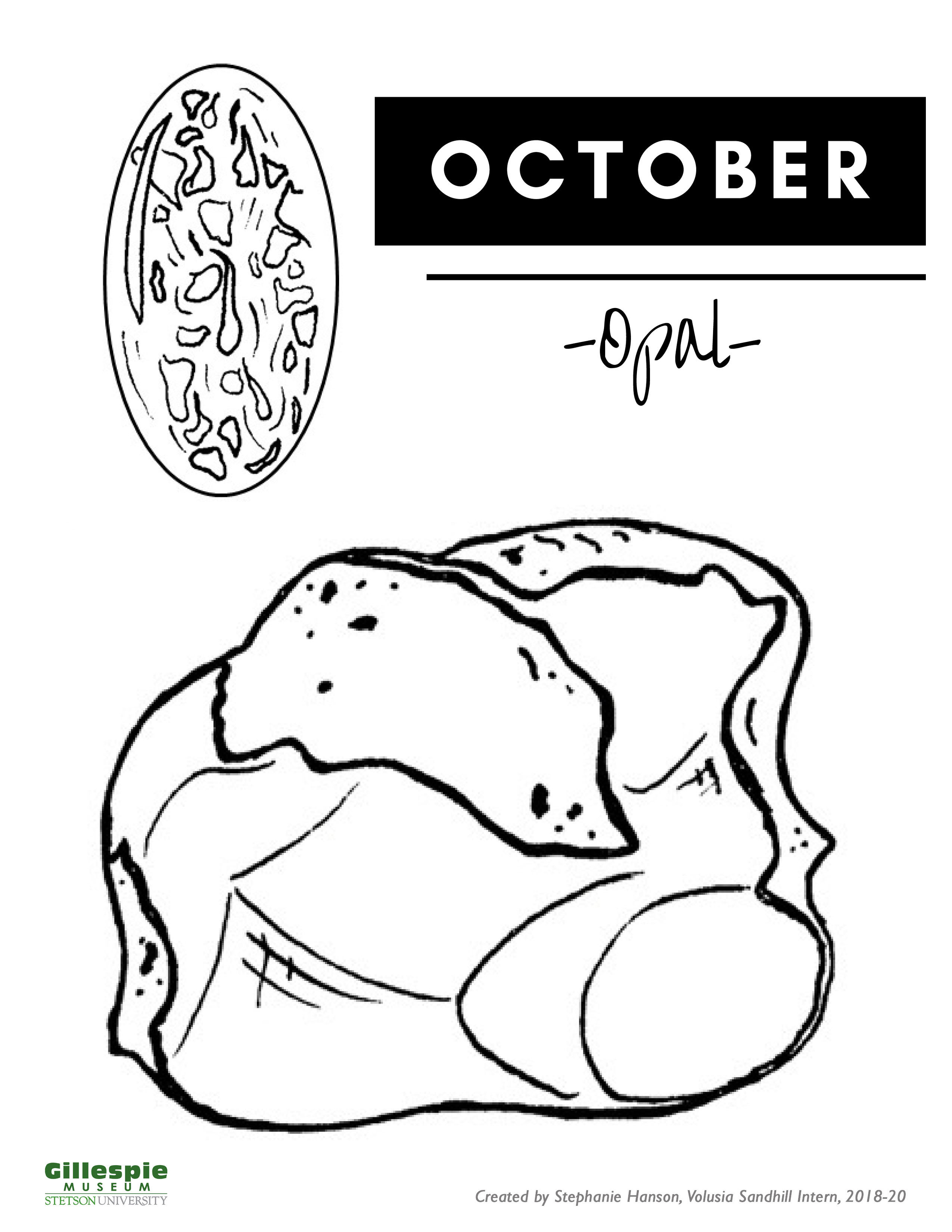 October birthstone