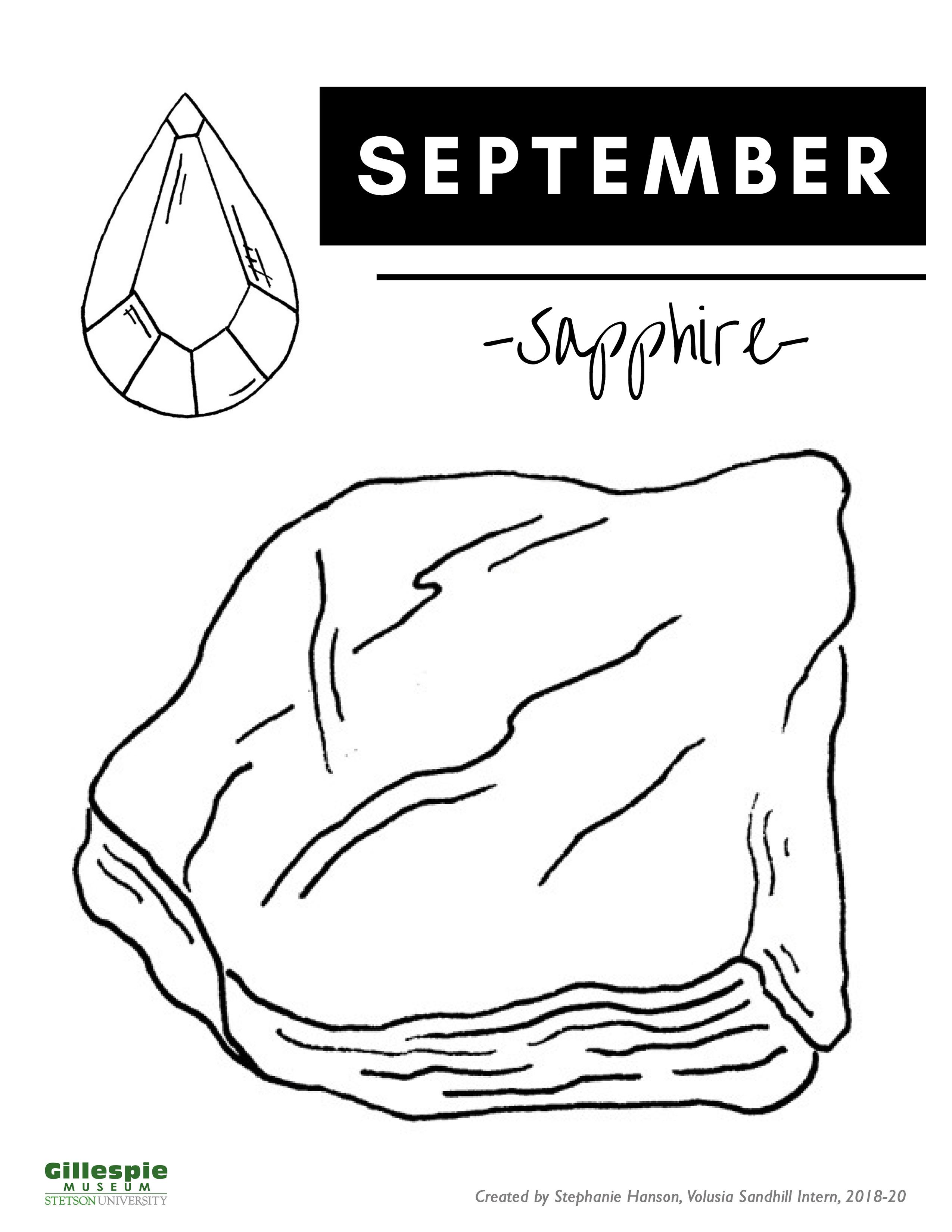 September birthstone