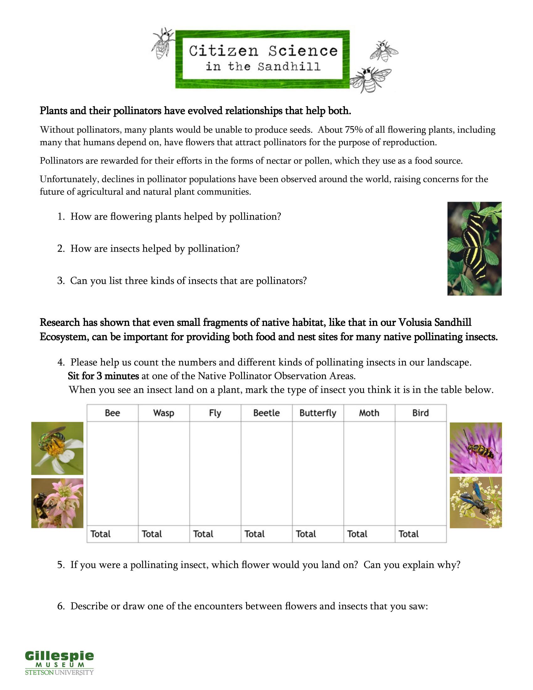 sandhill citizen science