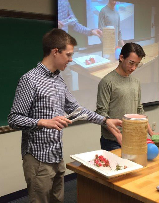Stetson physics students