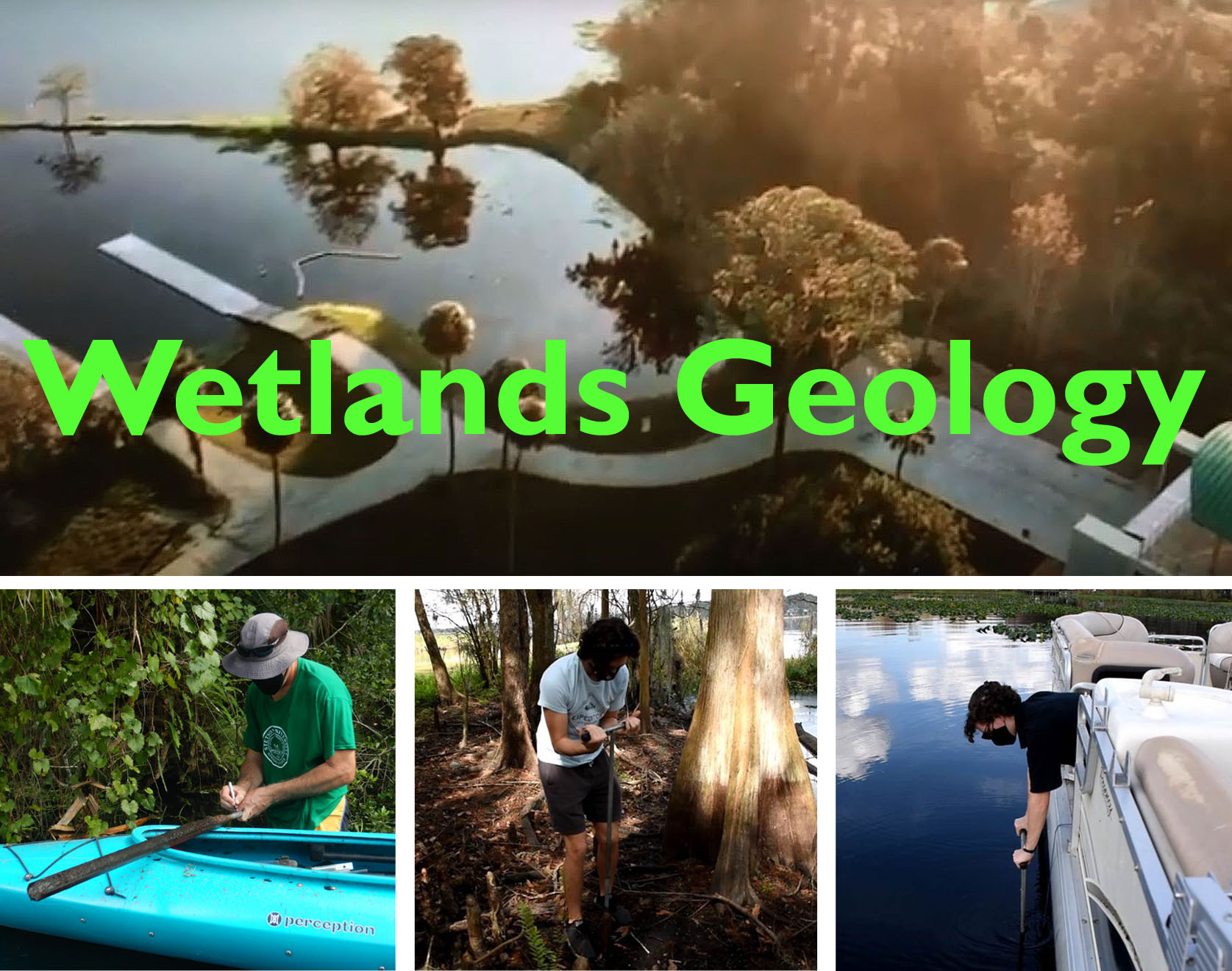 Wetlands Geology